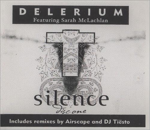 Delerium Silence - 3 Tracks CD-R acetate UK ELRCRSI494617