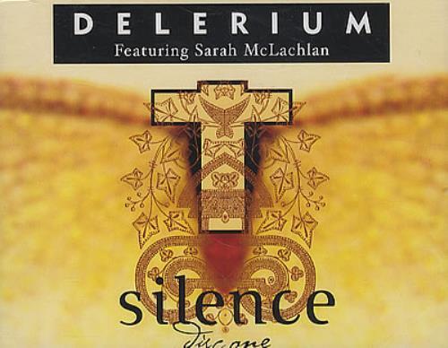"Delerium Silence CD single (CD5 / 5"") UK ELRC5SI193191"