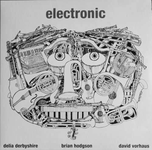 Delia Derbyshire Electronic - Silver Foil Blocked Sleeve - Sealed vinyl LP album (LP record) UK O5MLPEL764867