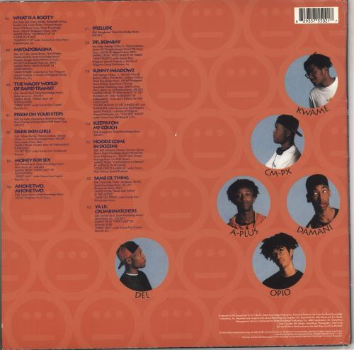 Del Tha Funkee Homosapien I Wish My Brother George Was Here 2-LP vinyl record set (Double Album) US 0462LIW740440