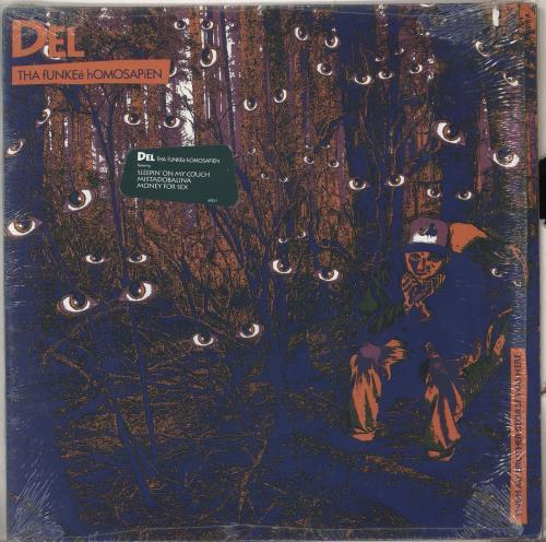 Del The Funky Homosapien I Wish My Brother George Was Here vinyl LP album (LP record) US DFILPIW711964