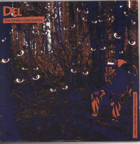 Del The Funky Homosapien I Wish My Brother George Was Here 2-LP vinyl record set (Double Album) US DFI2LIW740440