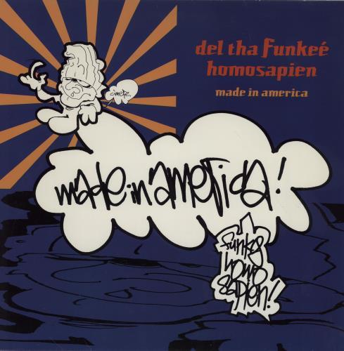 "Del The Funky Homosapien Made In America 12"" vinyl single (12 inch record / Maxi-single) US DFI12MA754256"
