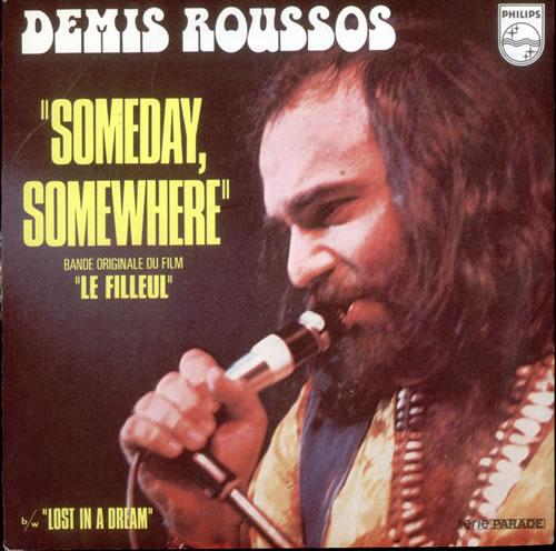 Demis Roussos Someday Somewhere French 7 Quot Vinyl Single 7