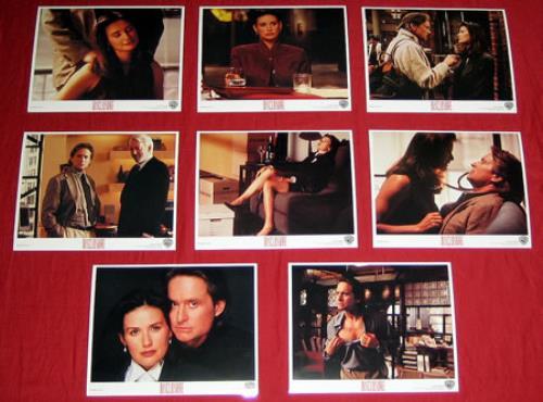 Demi Moore Disclosure Us Promo Photograph 379804 Publicity Card Photo S