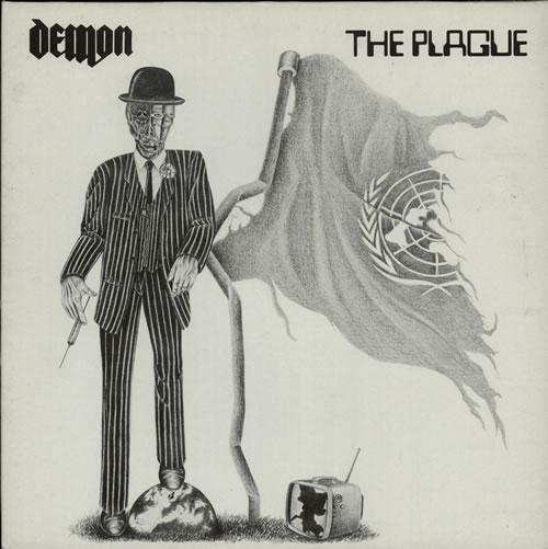 Demon (Rock) The Plague vinyl LP album (LP record) UK DEMLPTH581486