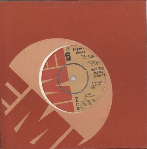 "Denis King Regan's Theme 7"" vinyl single (7 inch record) UK F8507RE729133"