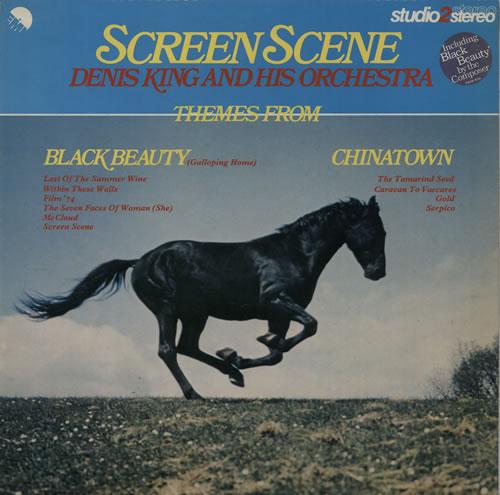 Denis King Screen Scene vinyl LP album (LP record) UK F85LPSC635561