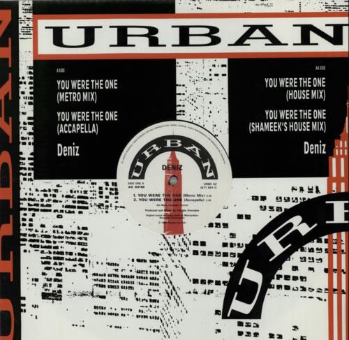 "Deniz You Were The One 12"" vinyl single (12 inch record / Maxi-single) UK FYP12YO606529"