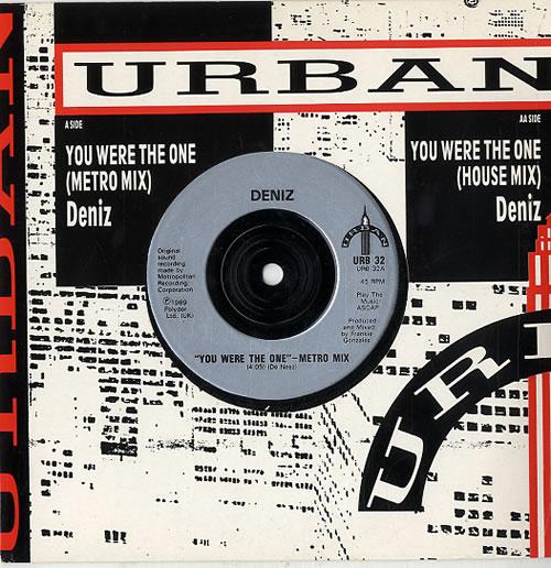 "Deniz You Were The One 7"" vinyl single (7 inch record) UK FYP07YO625679"