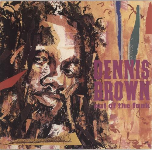 """Dennis Brown Out Of The Funk 12"""" vinyl single (12 inch record / Maxi-single) UK D/B12OU727385"""
