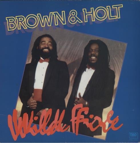 Dennis Brown Wild Fire vinyl LP album (LP record) UK D/BLPWI747983