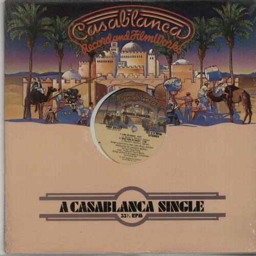 "Dennis Parker Like An Eagle / New York By Night 12"" vinyl single (12 inch record / Maxi-single) US IGP12LI650080"