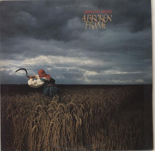 Depeche Mode A Broken Frame - EX vinyl LP album (LP record) UK DEPLPAB669770