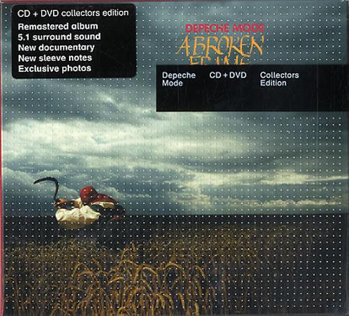 Depeche Mode A Broken Frame 2-disc CD/DVD set UK DEP2DAB374081