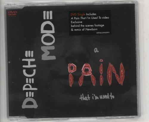 Depeche Mode A Pain That I'm Used To DVD Single UK DEPDSAP344193