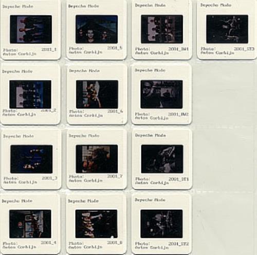 Depeche Mode Anton Corbijn memorabilia US DEPMMAN198505