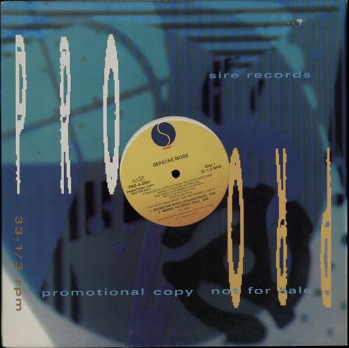 "Depeche Mode Behind The Wheel - VG 12"" vinyl single (12 inch record / Maxi-single) US DEP12BE637486"