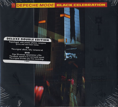 Depeche Mode Black Celebration Deluxe Edition Us 2 Disc
