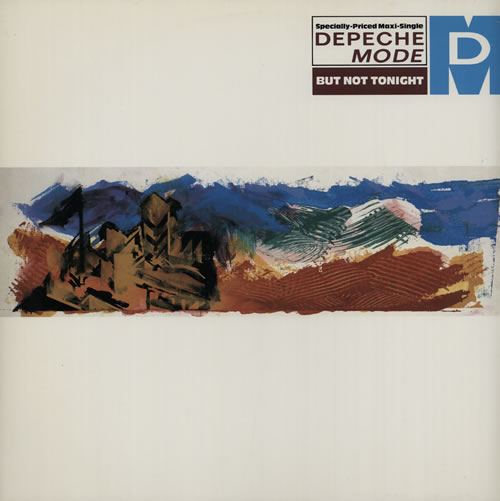 "Depeche Mode But Not Tonight 12"" vinyl single (12 inch record / Maxi-single) US DEP12BU07194"
