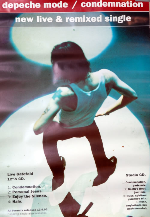 Depeche Mode Condemnation UK poster (606099)