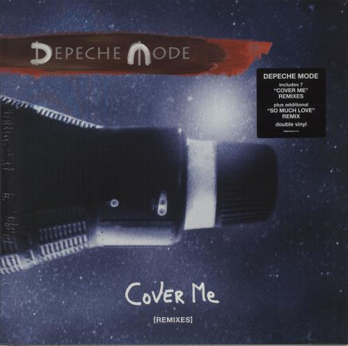 "Depeche Mode Cover Me (Remixes) - Sealed 12"" vinyl single (12 inch record / Maxi-single) UK DEP12CO682491"