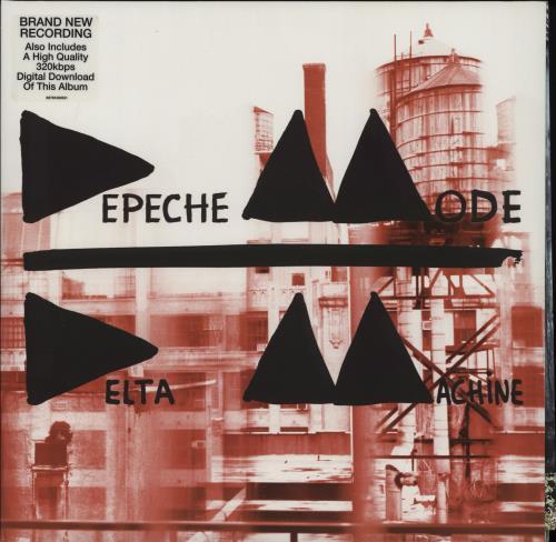 Depeche Mode Delta Machine 2-LP vinyl record set (Double Album) UK DEP2LDE606117