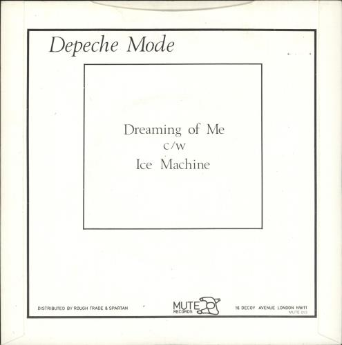 "Depeche Mode Dreaming Of Me - VG 7"" vinyl single (7 inch record) UK DEP07DR680143"