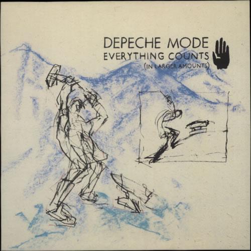 "Depeche Mode Everything Counts [In Larger Amounts] 12"" vinyl single (12 inch record / Maxi-single) UK DEP12EV07901"