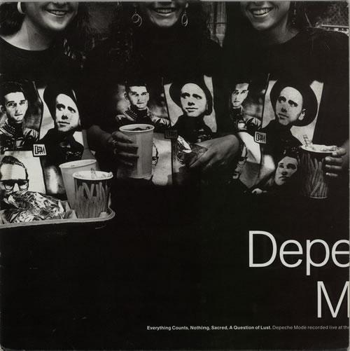 "Depeche Mode Everything Counts - EX 12"" vinyl single (12 inch record / Maxi-single) UK DEP12EV629820"