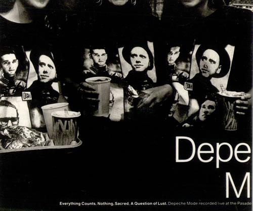 "Depeche Mode Everything Counts 3"" CD single (CD3) German DEPC3EV31344"