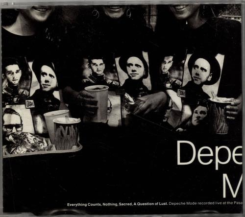 "Depeche Mode Everything Counts 3"" CD single (CD3) UK DEPC3EV07977"