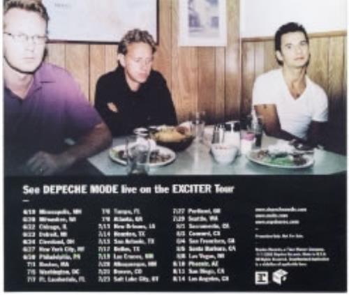 Depeche Mode Exciter Interview Disc/Transcript CD album (CDLP) US DEPCDEX186638