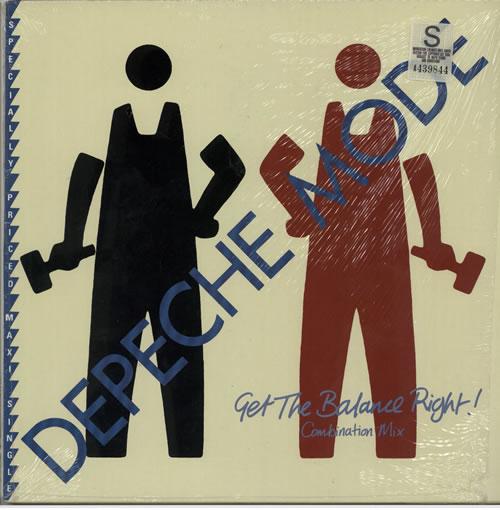 "Depeche Mode Get The Balance Right - Combination Mix 12"" vinyl single (12 inch record / Maxi-single) Canadian DEP12GE637070"