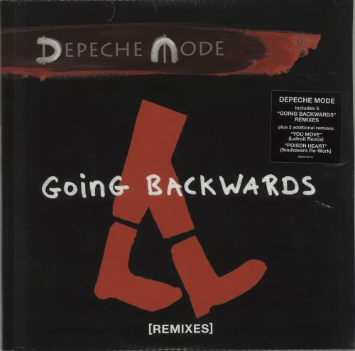 "Depeche Mode Going Backwards [Remixes] 12"" vinyl single (12 inch record / Maxi-single) UK DEP12GO681774"