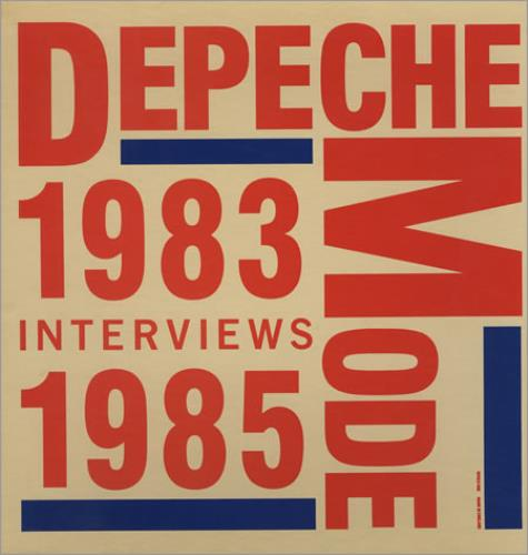 Depeche Mode Interviews 1983-1985 - Vinyl Picture Disc box set UK DEPBXIN378738