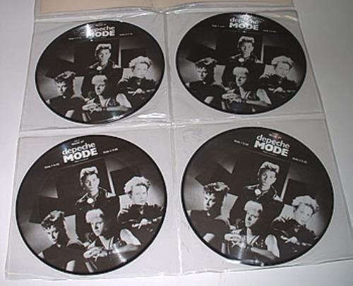 "Depeche Mode Interviews 83-85 7"" vinyl single (7 inch record) UK DEP07IN322004"