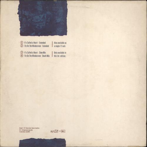 "Depeche Mode It's Called A Heart - Double Pack - EX 12"" vinyl single (12 inch record / Maxi-single) UK DEP12IT768339"