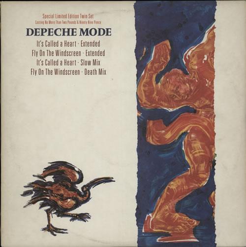 "Depeche Mode It's Called A Heart - Double Pack 12"" vinyl single (12 inch record / Maxi-single) UK DEP12IT07925"