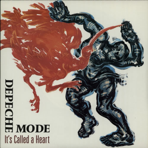 "Depeche Mode It's Called A Heart 7"" vinyl single (7 inch record) UK DEP07IT304626"