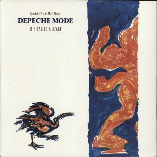 "Depeche Mode It's Called A Heart 12"" vinyl single (12 inch record / Maxi-single) US DEP12IT04483"