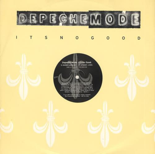 "Depeche Mode It's No Good 12"" vinyl single (12 inch record / Maxi-single) UK DEP12IT82200"