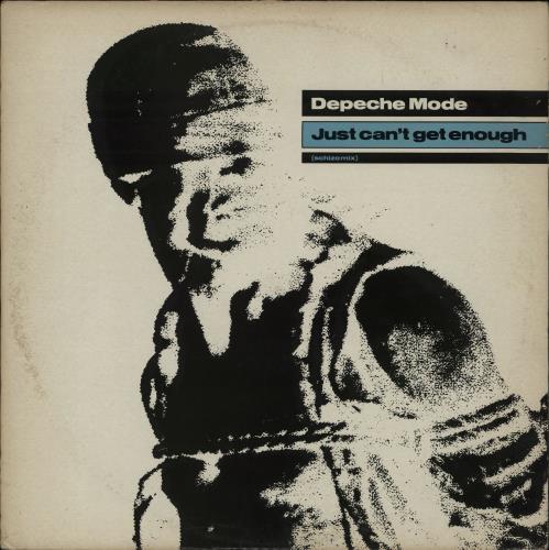 "Depeche Mode Just Can't Get Enough (Schizo Mix) - EX 12"" vinyl single (12 inch record / Maxi-single) UK DEP12JU612901"