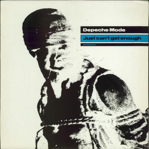 "Depeche Mode Just Can't Get Enough (Schizo Mix) 12"" vinyl single (12 inch record / Maxi-single) UK DEP12JU07904"
