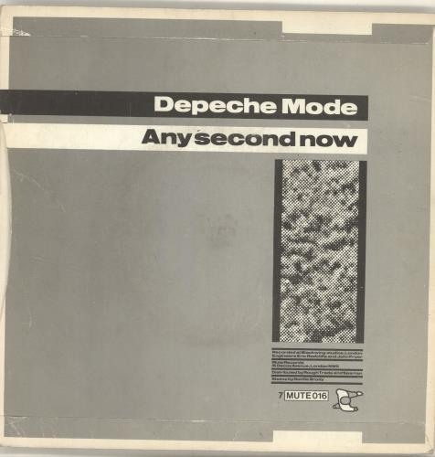 "Depeche Mode Just Can't Get Enough - Solid + P/S 7"" vinyl single (7 inch record) UK DEP07JU658586"