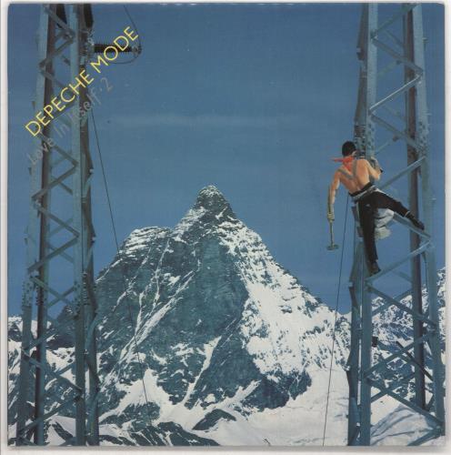 "Depeche Mode Love It Itself 7"" vinyl single (7 inch record) UK DEP07LO06873"