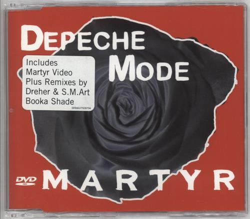 Depeche Mode Martyr DVD Single UK DEPDSMA376363