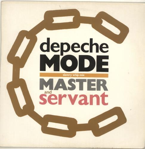 "Depeche Mode Master & Servant - EX 12"" vinyl single (12 inch record / Maxi-single) UK DEP12MA07926"