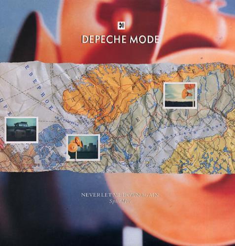 "Depeche Mode Never Let Me Down Again (Split Mix) - EX 12"" vinyl single (12 inch record / Maxi-single) UK DEP12NE33878"