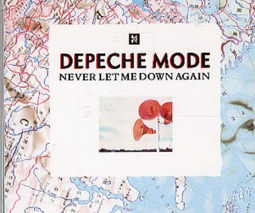Depeche Mode Never Let Me Down Again Brazilian CD single